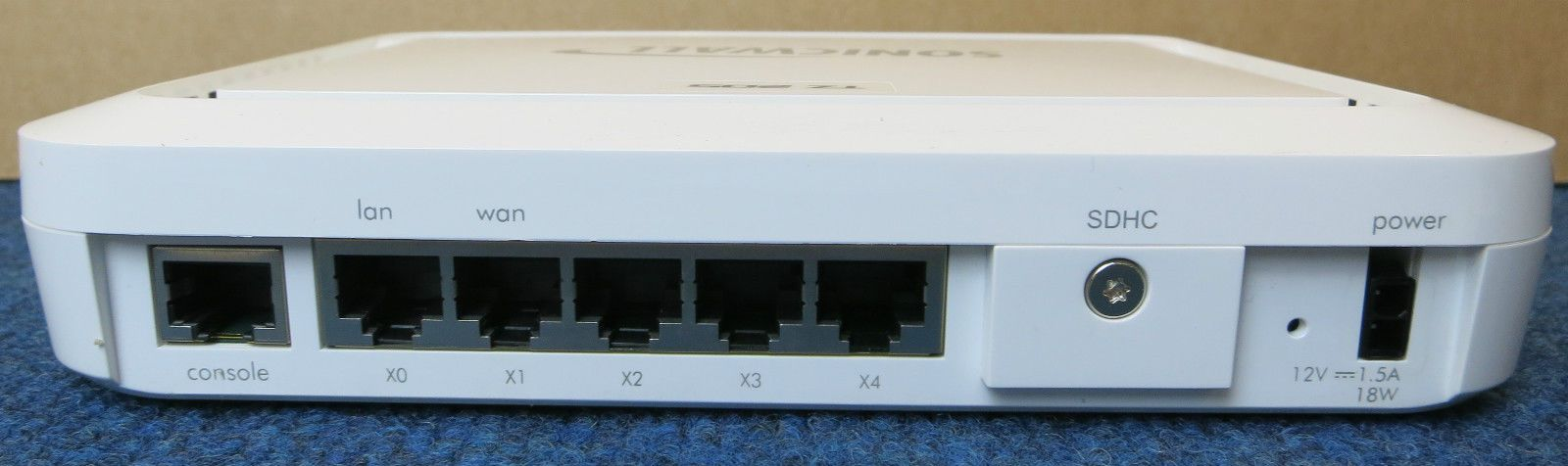 SONICWALL TZ 205 APL22-09D 5-PORT WIRED GIGABIT ETHERNET SECURITY ...
